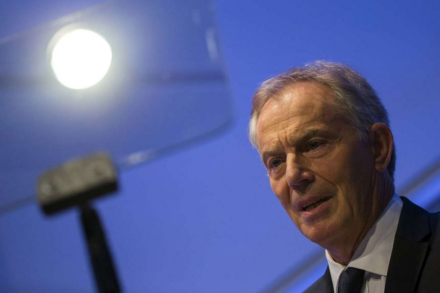 Former British prime minister Tony Blair launched a new campaign for a peace agreement between Israel and Palestinians.