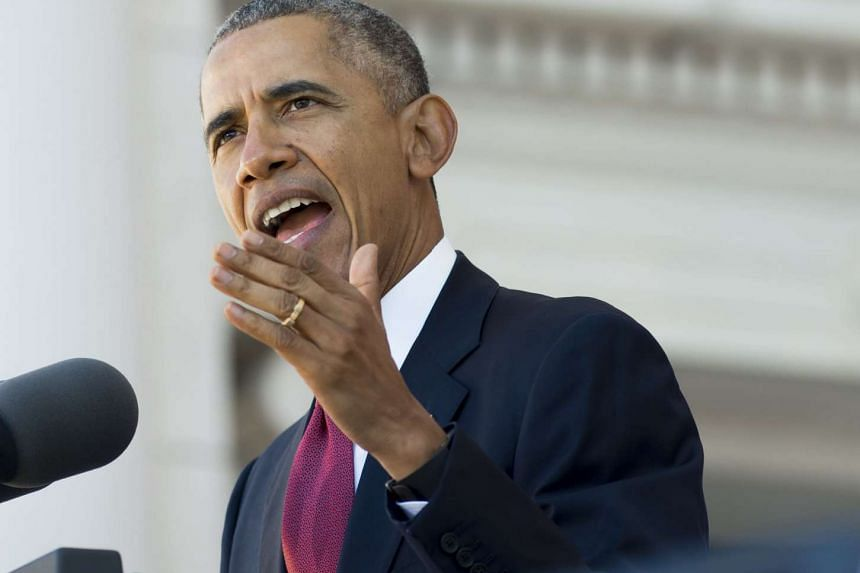 """US President Barack Obama is calling for a stepped up drive to """"completely decapitate"""" the militants' operations."""