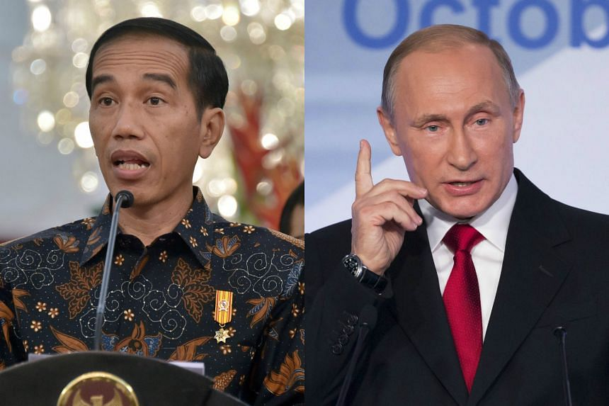 Indonesian President Joko Widodo and Russian President Vladimir Putin will not attend next week's Apec leaders' meeting in Manila.