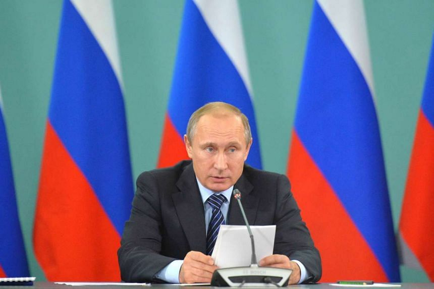 President Vladimir Putin, at a meeting with heads of sports federations, says the drug problem does not exist only in Russia.