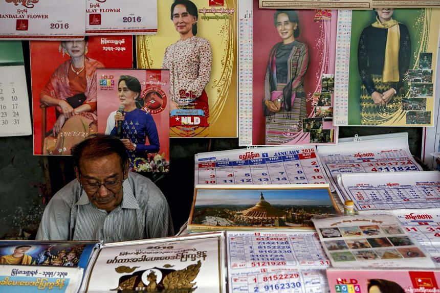 Ms Aung San Suu Kyi's pro-democracy National League for Democracy has won more than 80 per cent of the parliamentary seats, so far.
