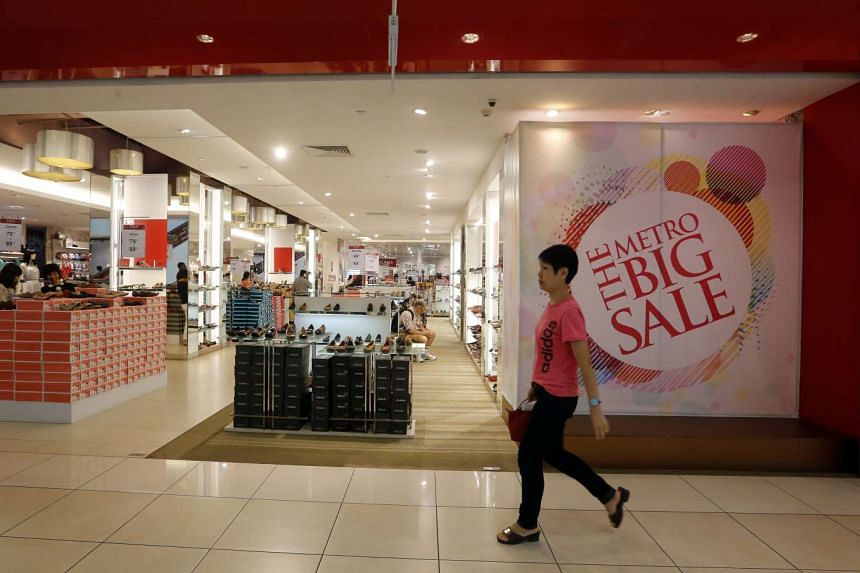 Retail stores such as Challenger, Metro (above) and FJ Benjamin have reported disappointing sales figures over the latest quarter.