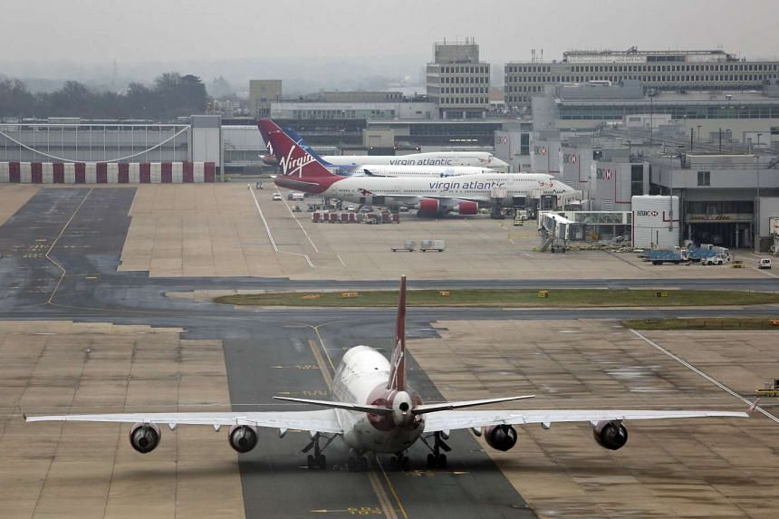 Gatwick Airport (pictured) evacuated its North Terminal on Saturday, Nov 14, 2015.