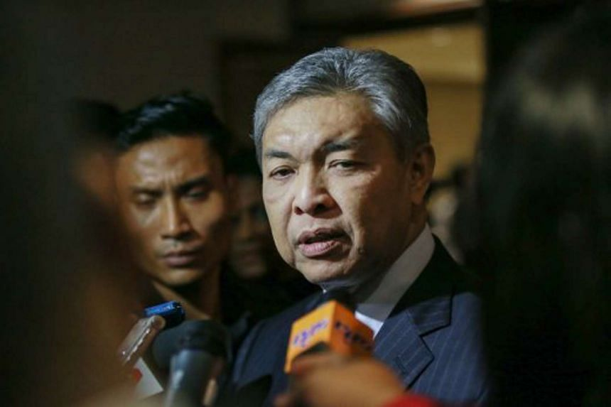 Datuk Seri Ahmad Zahid said the country's motives of building the facilities 3,218km from its mainland were questionable.