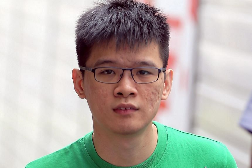 After he was arrested in 2012, Sean Chew Jun Yang reoffended twice while he was out on bail. He committed the same offence last year and in June. He was sentenced to three years' jail yesterday.