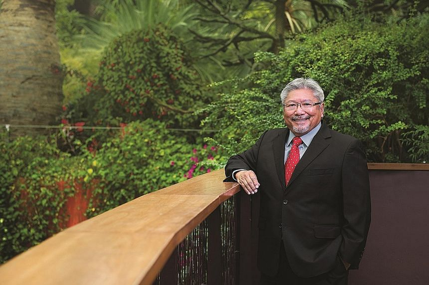 """Dr Tan Wee Kiat was CEO of NParks from 1990 to 2006. In the 1990s, he coined the term """"city in a garden"""" to describe a vision of vibrant greenery amid urbanisation."""