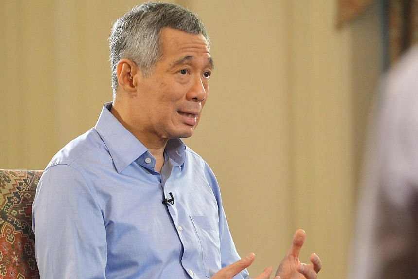 Prime Minister Lee Hsien Loong.