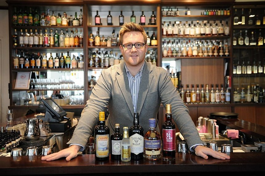 Mr Mathieu Musnier, general manager of La Maison du Whisky, hopes at least 2,500 people will attend this year's two-day Whisky Live.
