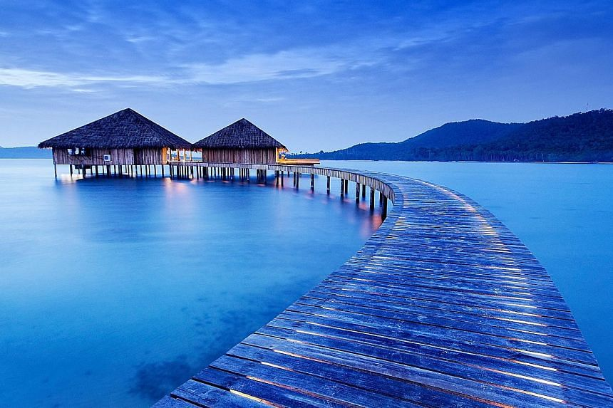 Song Saa Private Island resort in Cambodia.