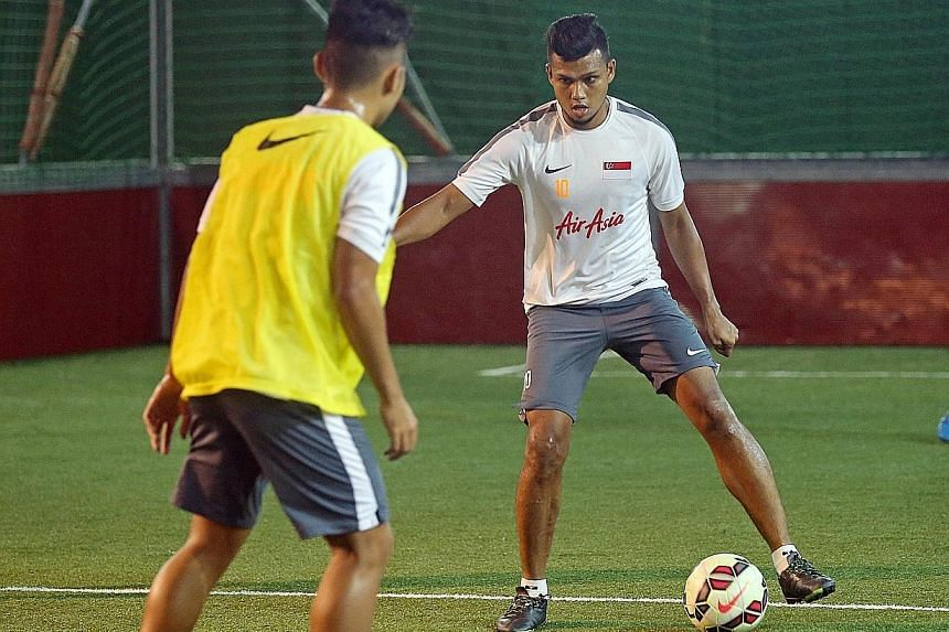 Fazrul Nawaz, training at the Amara Hotel, said Syria capitalised on their one chance to score and beat the Lions in September.