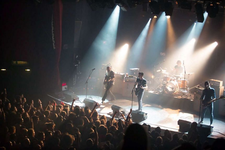 Italian tourist Massimiliano Natalucci, who was attending the concert by Eagles of Death Metal at the Bataclan concert hall, escaped with only a few scratches.