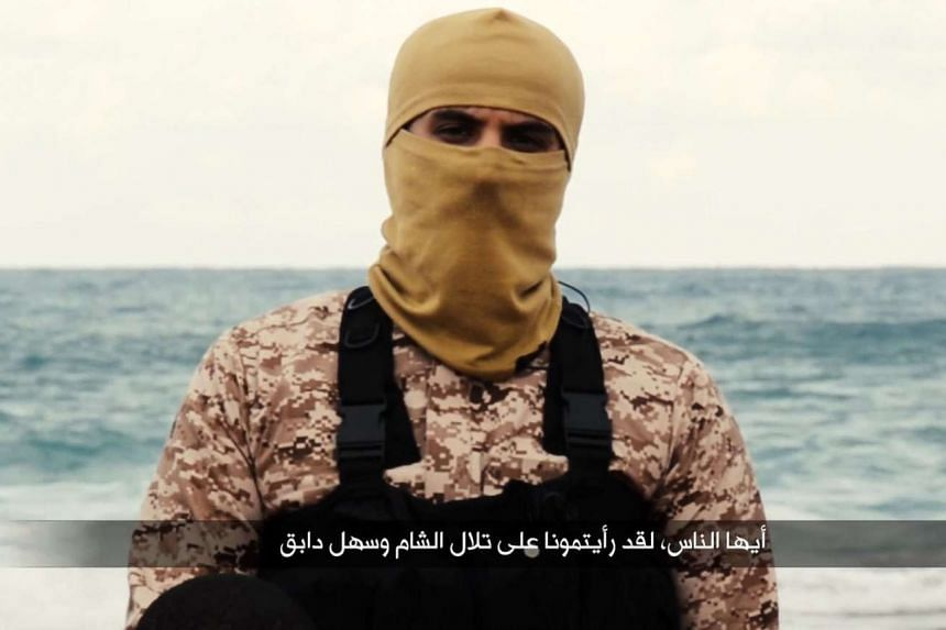 A video screenshot purportedly shows Abu Nabil, the senior ISIS leader in Libya.