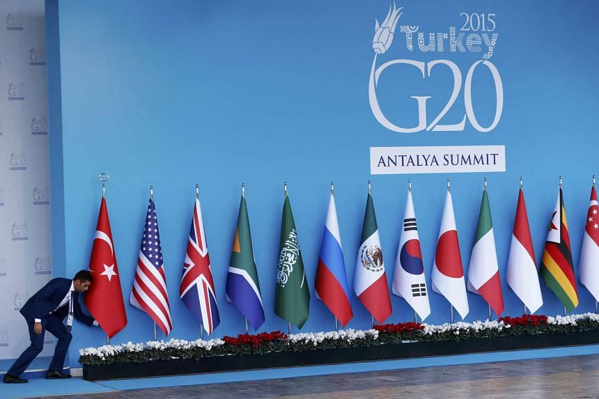 World leaders joined a heavily-guarded summit in Turkey to forge a united front against terrorism.