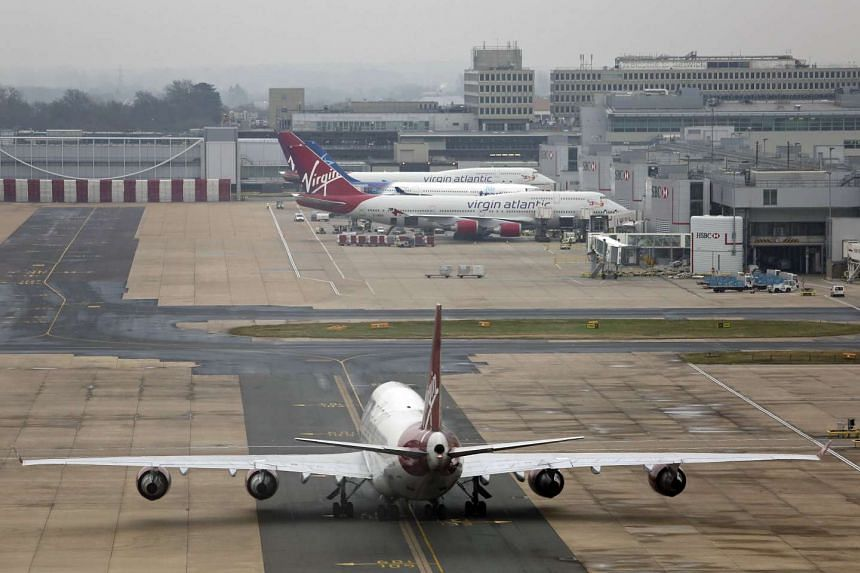 A Frenchman was charged for possessing an air rifle and a knife in Gatwick Airport.
