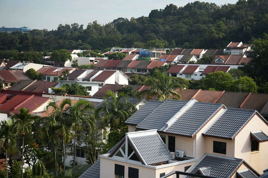 A total of 546 private homes were sold by developers last month, up from 341 private homes sold in September.