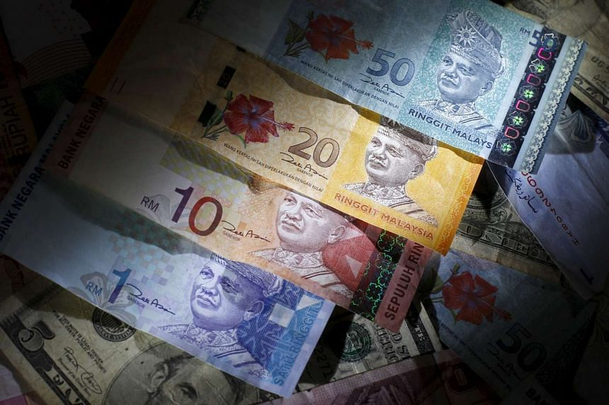 The ringgit fell to a six-week low amid risk aversion after the Paris terror attacks and concern Malaysia's economy will keep slowing.
