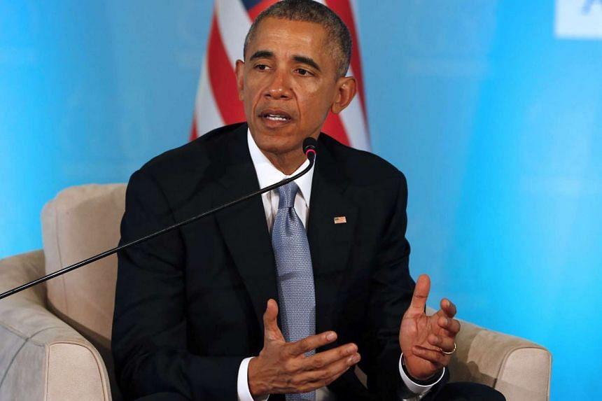 US President Barack Obama will arrive in Manila on Tuesday (Nov 17).