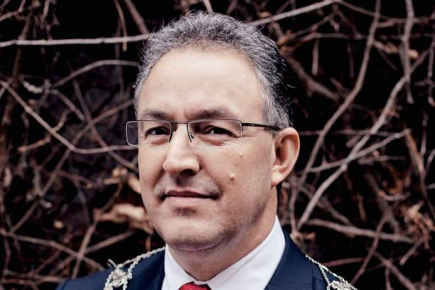 """Rotterdam Mayor Ahmed Aboutaleb called for the """"total destruction"""" of ISIS."""