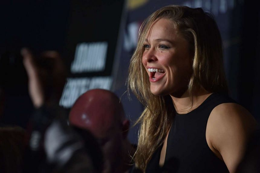 Ronda Rousey vowed to make a comeback after her defeat to Holly Holm during their title match on Nov 15.