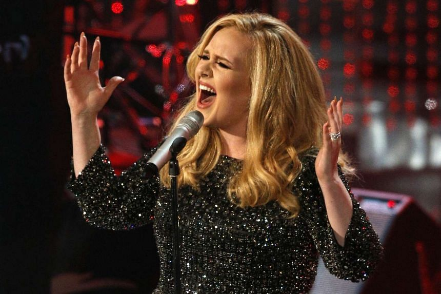 Adele can get caught up in her own songs.
