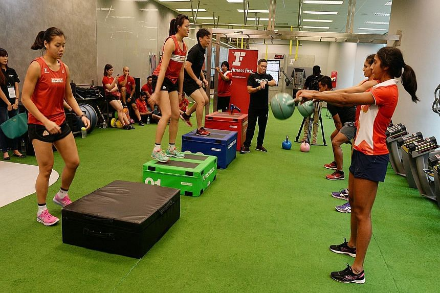 The tie-up with Fitness First will provide 200 international memberships for Team Singapore athletes.
