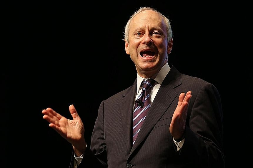Harvard professor Michael Sandel's lecture on morality and market forces was the most well-attended ticketed event.