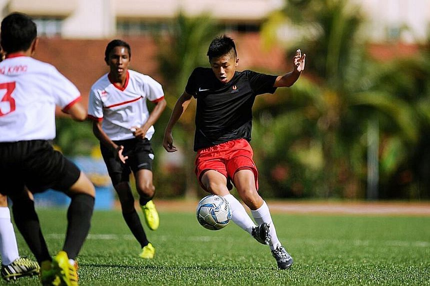 Footballer Gerald Ting and fencer Tatiana Wong are among those who will benefit from the move. He will study for a Nitec in Fitness Training, while she will take an extra year to complete her IB-Diploma programme.