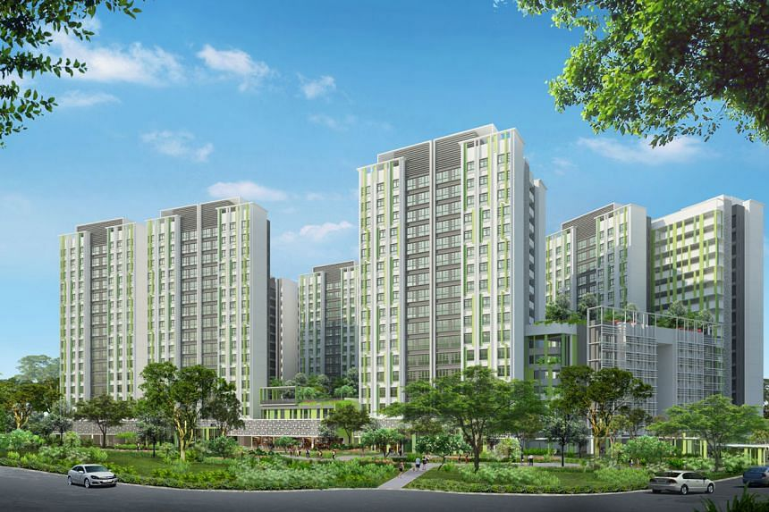 New Build-To-Order flats at Alkaff Vista in Toa Payoh.