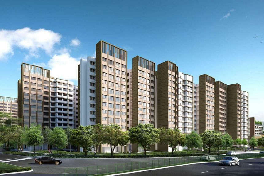 New Build-To-Order flats at Fernvale Woods in Sengkang.