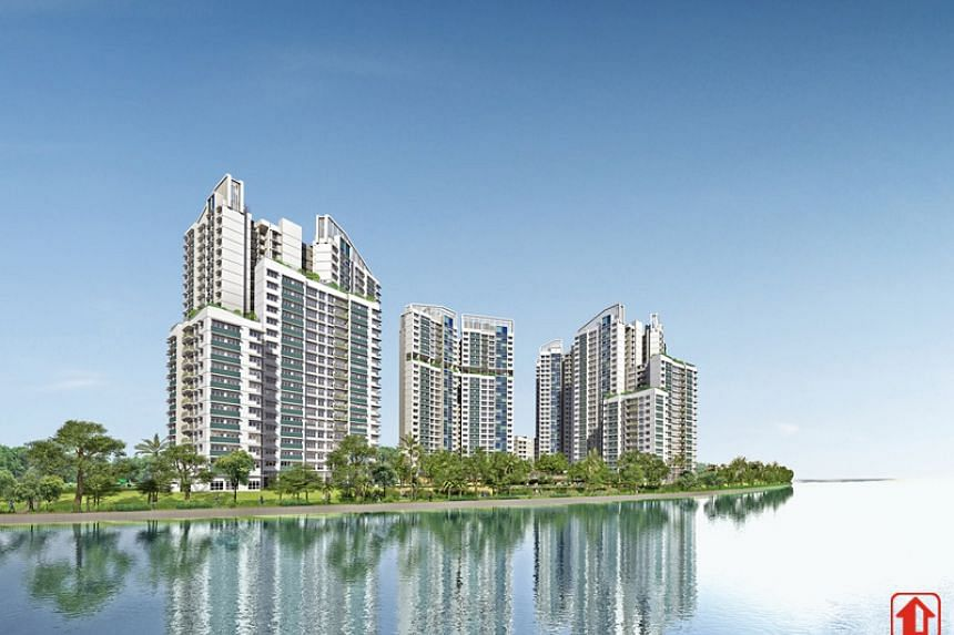 New Build-To-Order flats at Northshore StraitsView in Punggol.