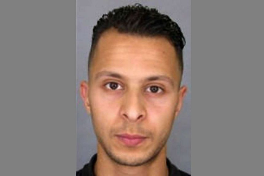 Paris attack suspect Salah Abdeslam (pictured) was stopped while travelling with two other men in Austria on Sept 9.