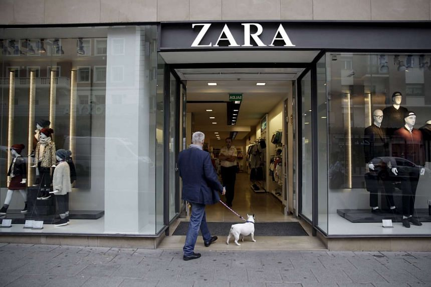 A Zara store in Madrid, Spain.