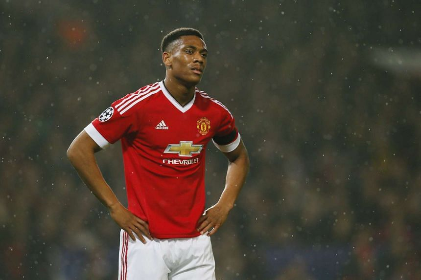 Striker Anthony Martial suffered a foot injury in the football friendly between France and England on Tuesday.