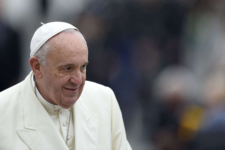 Pope Francis said that the doors of Catholic churches around the world must remain open.