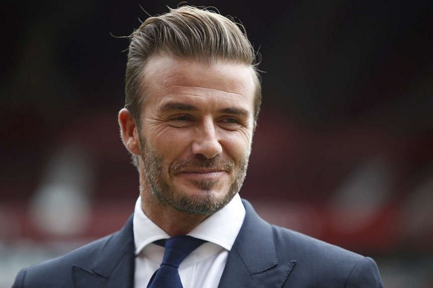 David Beckham was named People magazine's 2015 Sexiest Man Alive.