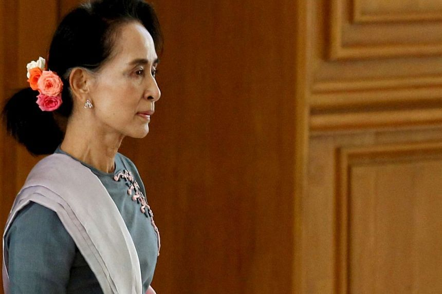 Myanmar's Aung San Suu Kyi pledges to pay special attention to ties with China.