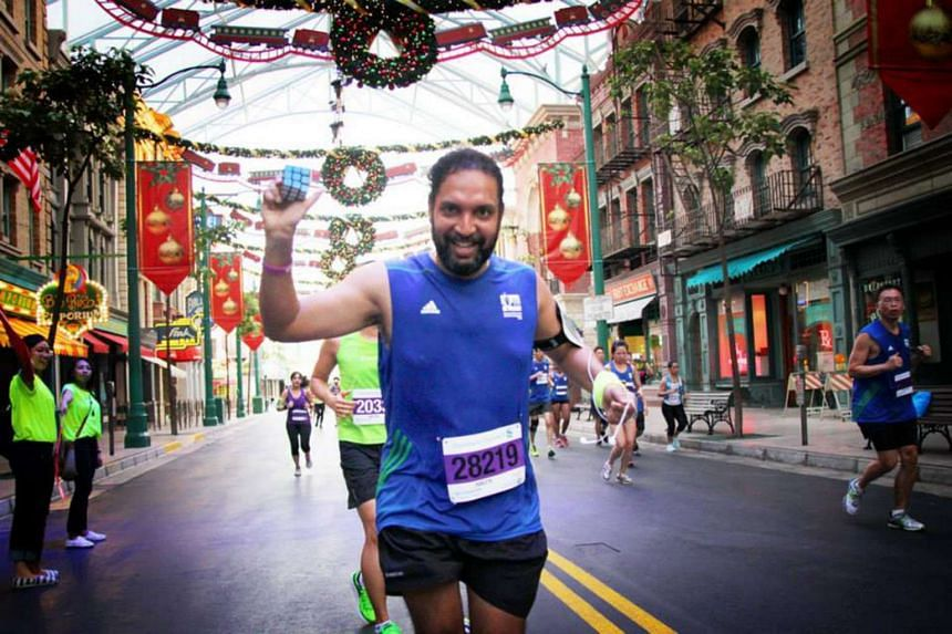 Software engineer Ranjith Vijayan will attempt to break the Guinness World Record for the most number of Rubik's Cubes solved at this year's Standard Chartered Marathon Singapore.