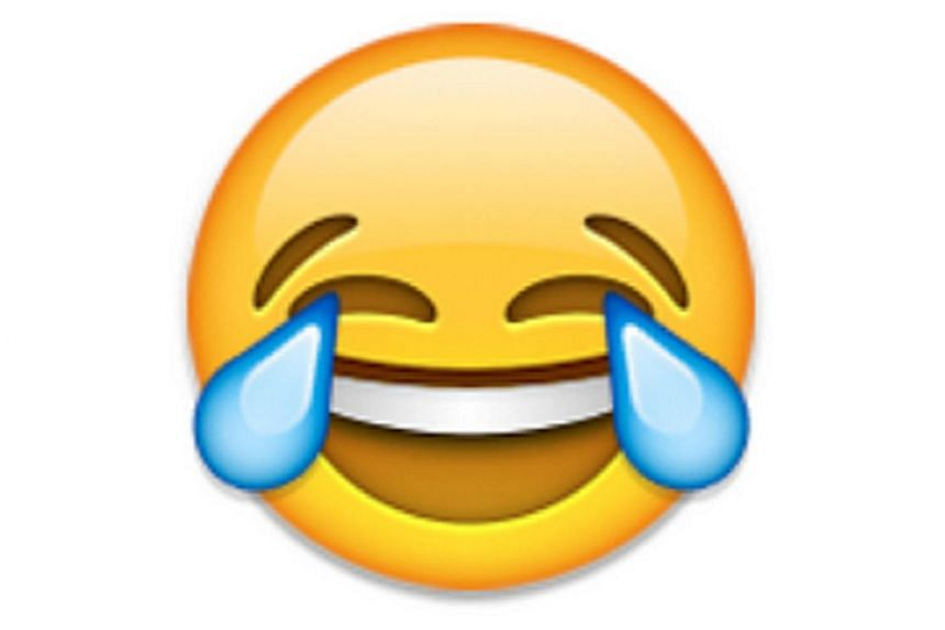 "The emoji called the ""face with tears of joy"" has been named by Oxford Dictionaries as the Word of the Year."