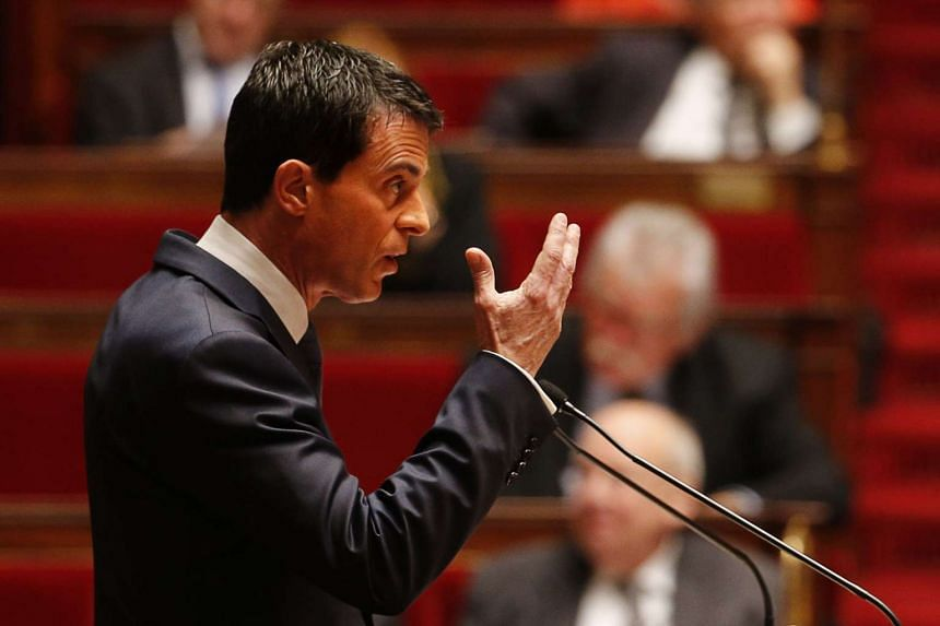 French Prime Minister Manuel Valls warned lawmakers of the danger of chemical or biological attacks in France on Nov 19, 2015.