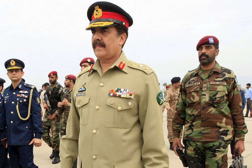 Public appearances by Pakistan's Army Chief of Staff, General Raheel Sharif, have been less ostentatious than those of some of his predecessors but his face has become ubiquitous on social media.