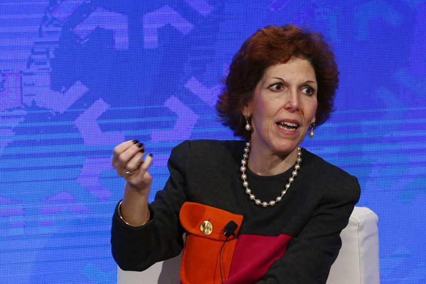 Cleveland Fed president Loretta Mester takes part in a panel convened to speak about the health of the US economy in New York on Nov 18, 2015.