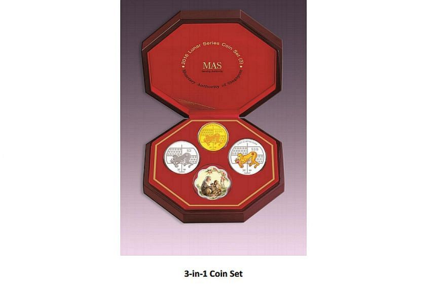 3-in-1 Coin Set
