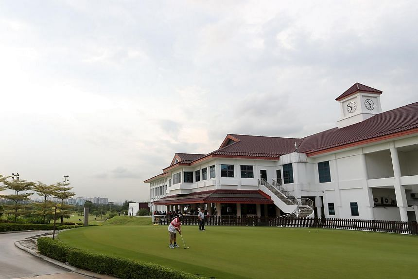 Jurong Country Club.