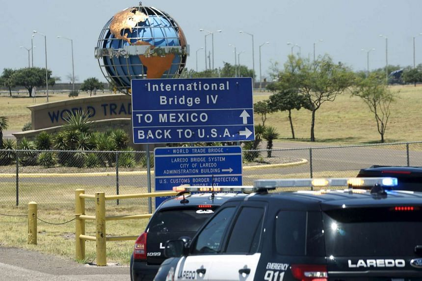 The US-Mexico border, outside Laredo, Texas in a July 23, 2015 file photo.