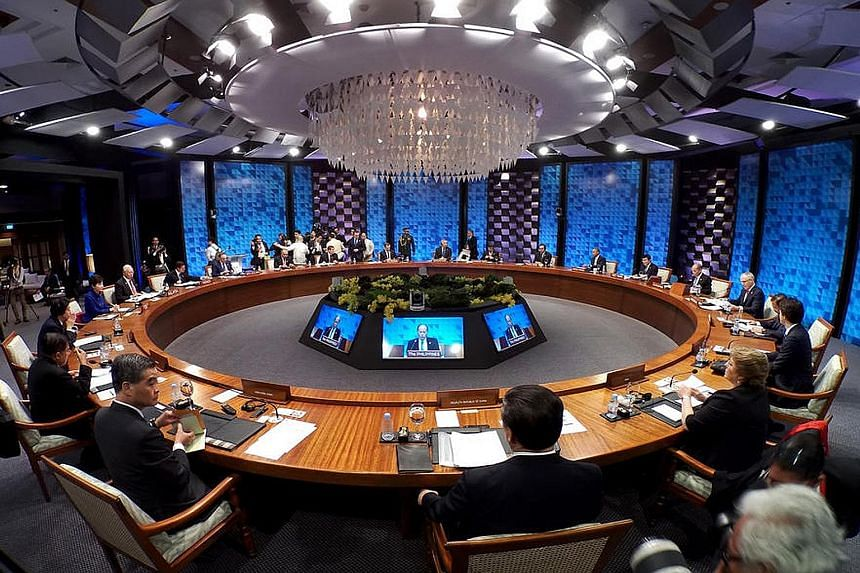 """Asia-Pacific Economic Cooperation leaders spoke out against terrorism, pushing for initiatives to plug terrorist financing and restrict cross-border movements of terrorists, through the """"Apec consolidated counter-terrorism and secure trade strategy""""."""