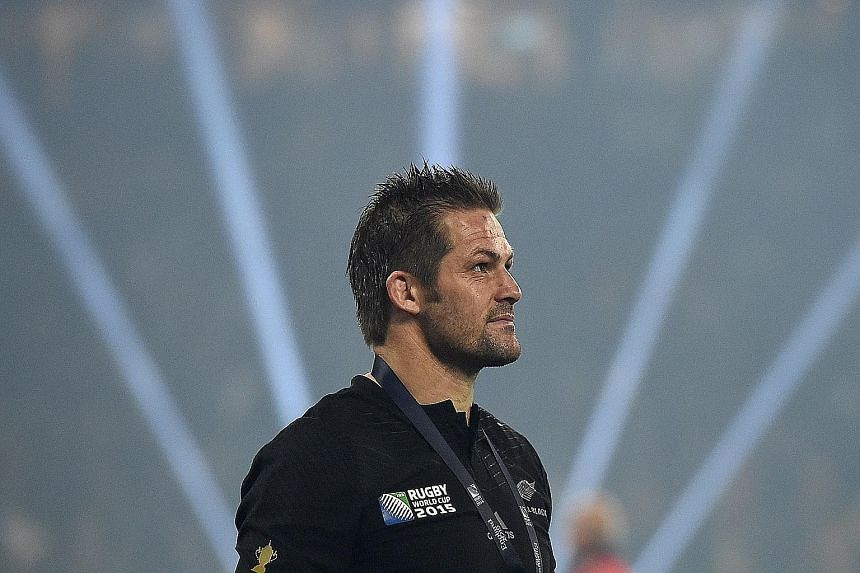 Two-time Rugby World Cup winning captain Richie McCaw will now move on to the next stage of his life, as a commercial helicopter pilot in Christchurch.