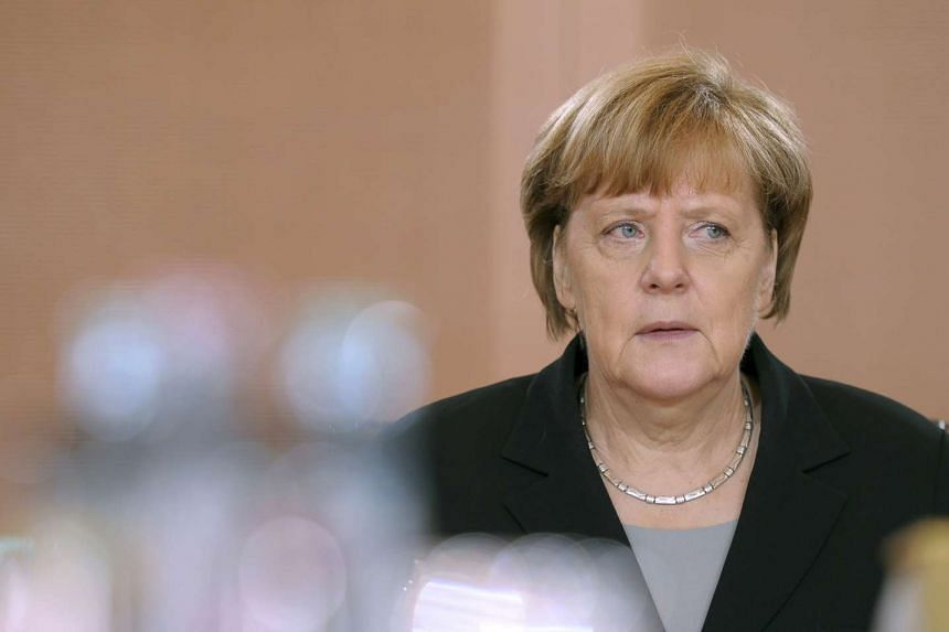 German chancellor Angela Merkel is said to have been showing more emotion of late.