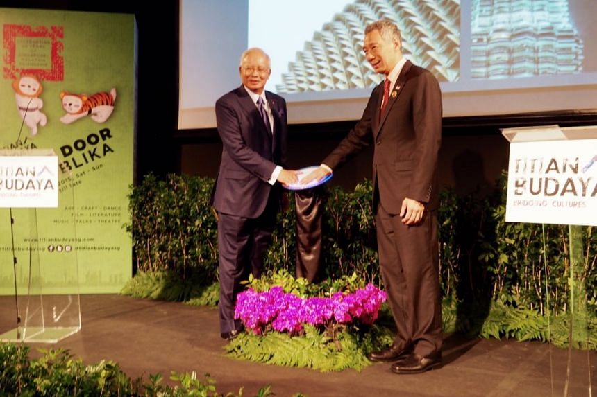 Titian Budaya was launched on Friday Nov 20 by Prime Minister Lee Hsien Loong and Malaysian Prime Minister Najib Razak.