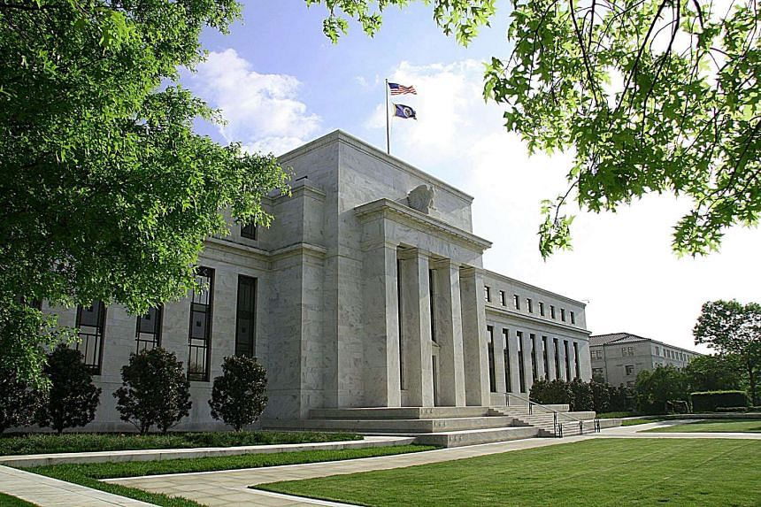 The US Federal Reserve Building.