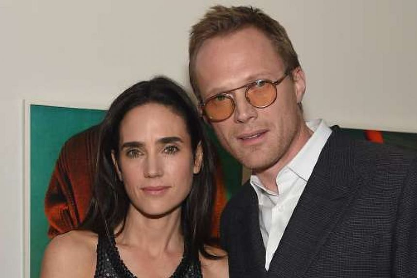 Paul Bettany and his wife, actress Jennifer Connelly (both above).